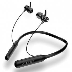 SYLLABLE Sport Neckband Bluetooth Earphone Headset - Q3 Gunner - Black