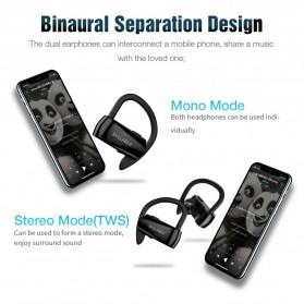SYLLABLE Wireless Sport Bluetooth Earphone Super Bass - D15 - Black - 3