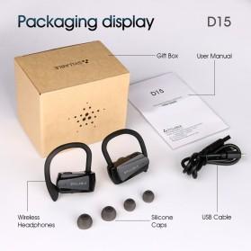 SYLLABLE Wireless Sport Bluetooth Earphone Super Bass - D15 - Black - 6