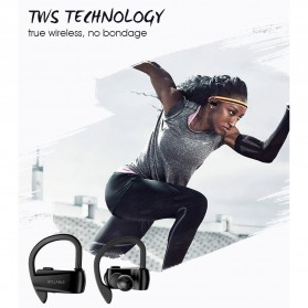 SYLLABLE Wireless Sport Bluetooth Earphone Super Bass - D15 - Black - 7