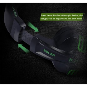 Salar X-Shark Gaming Headset dengan Mic - KX101 - Black - 9