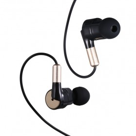 Salar Super Bass Earphone dengan Mic - S990 - Black Gold