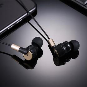 Salar Super Bass Earphone dengan Mic - S990 - Black Gold - 3