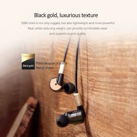 Salar Super Bass Earphone dengan Mic - S990 - Black Gold - 9