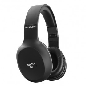 Salar Wireless Stereo Bluetooth Headphone with Mic - S11 - Black