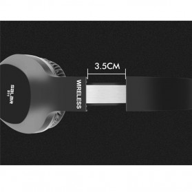 Salar Wireless Stereo Bluetooth Headphone with Mic - S11 - Black - 4