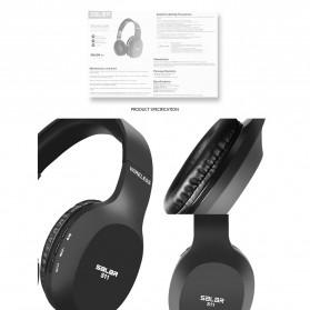 Salar Wireless Stereo Bluetooth Headphone with Mic - S11 - Black - 5
