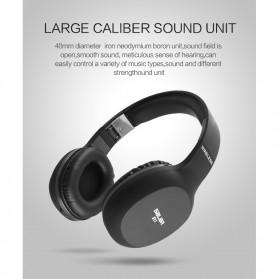 Salar Wireless Stereo Bluetooth Headphone with Mic - S11 - Black - 7