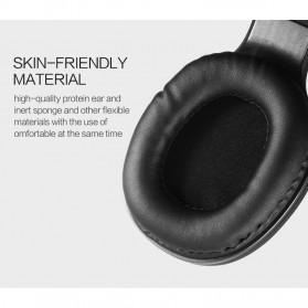 Salar Wireless Stereo Bluetooth Headphone with Mic - S11 - Black - 9