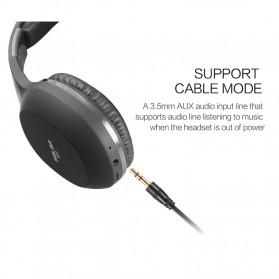 Salar Wireless Stereo Bluetooth Headphone with Mic - S11 - Black - 10