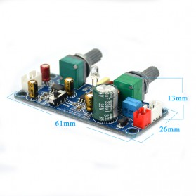 AIYIMA DIY Low Pass Filter Bass Subwoofer Preamp Amplifier Board DC 9-32V - A2D233 - 6