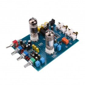 Aiyima DIY Bluetooth Preamplifier Board Vacuum Tube 6J5 - B2D1798 - Black