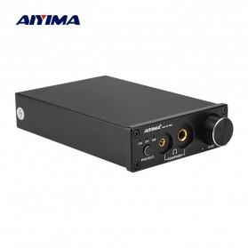 Aiyima DAC Converter Headphone Amplifier TPA6120 - B2D2326 - Black