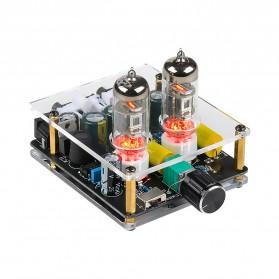 Aiyima Preamplifier Mini HiFi Stereo Preamp 2x6J3 Tubes - B2D2445 - Black - 5