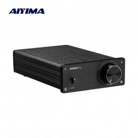 Aiyima A07 Digital Power Amplifier Hi-Fi Class D 2x300W TPA3255 - B2D1995 - Black