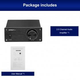 Aiyima A07 Digital Power Amplifier Hi-Fi Class D 2x300W TPA3255 - B2D1995 - Black - 9