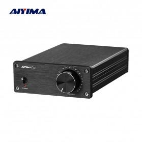 Aiyima A07 Digital Power Amplifier Hi-Fi Class D 2x300W TPA3255 - B2D1995 - Black - 2