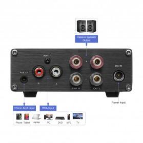 Aiyima A07 Digital Power Amplifier Hi-Fi Class D 2x300W TPA3255 - B2D1995 - Black - 4