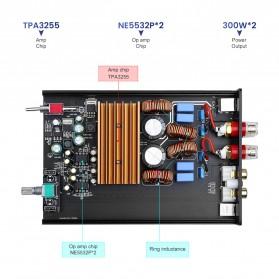 Aiyima A07 Digital Power Amplifier Hi-Fi Class D 2x300W TPA3255 - B2D1995 - Black - 5