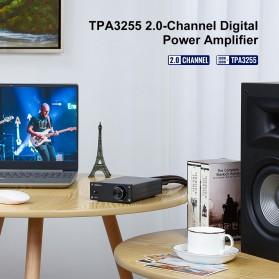 Aiyima A07 Digital Power Amplifier Hi-Fi Class D 2x300W TPA3255 - B2D1995 - Black - 6