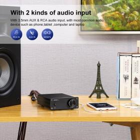 Aiyima A07 Digital Power Amplifier Hi-Fi Class D 2x300W TPA3255 - B2D1995 - Black - 7