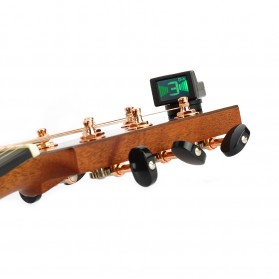 JOYO Tuner Gitar Mini Clip-on - JT-306 - Black - 2