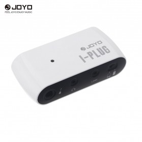 JOYO I-Plug Pre Amplifier Gitar Headphone Jack - White