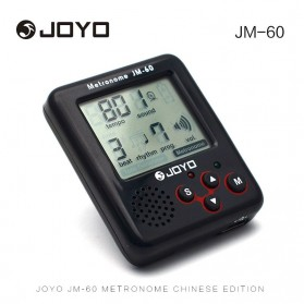 JOYO Vocal Metronome Rhythm Device Drum Piano Guitar - JM-60 - Black
