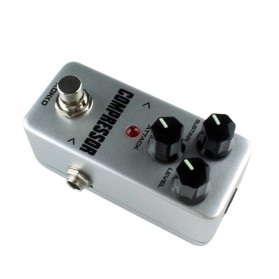 KOKKO Compressor Pedal Efek Gitar True Bypass - CFP2 - Silver - 4