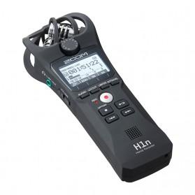 Microphone - Zoom Perekam Suara Digital Handy Voice Recorder - H1N - Black