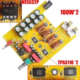 Breeze Audio Class D Amplifier TPA3116 2 x 100W - BA100 - Silver - 4