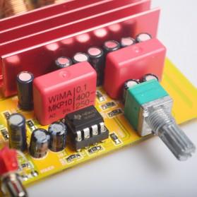 Breeze Audio Class D Amplifier TPA3116 2 x 100W - BA100 - Silver - 5