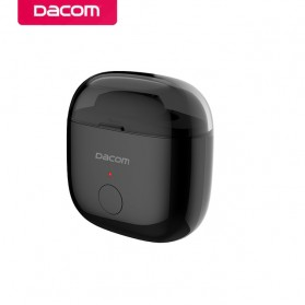 Dacom K6P Mono Earphone Bluetooth with Charger Case - Black