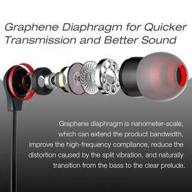 Dacom L06 Earphone Bluetooth Sport dengan Microphone - Black - 3
