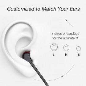 Dacom L06 Earphone Bluetooth Sport dengan Microphone - Black - 4
