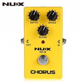 NUX Pedal Efek Gitar True Bypass - CH-3 - Yellow