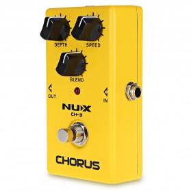 NUX Pedal Efek Gitar True Bypass - CH-3 - Yellow - 2