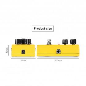 NUX Pedal Efek Gitar True Bypass - CH-3 - Yellow - 8