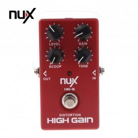 NUX Pedal Efek Gitar True Bypass - HG-6 - Red
