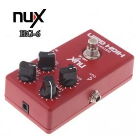 NUX Pedal Efek Gitar True Bypass - HG-6 - Red - 2