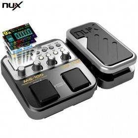 NUX Pedal Efek Gitar Synthesizer Processor - MG-100 - Black