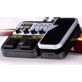 NUX Pedal Efek Gitar Synthesizer Processor - MG-100 - Black - 4