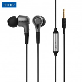 Edifier Earphones High Quality with Omnidirectional Microphone - H230P - Black