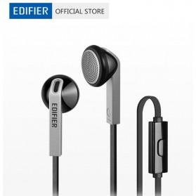 EDIFIER Earphone Earbud dengan Microphone - H190P - Black