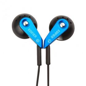 EDIFIER Earphone Earbud dengan Microphone - H185 - Blue
