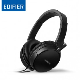 Edifier Powerful Headphones Noise Isolating HIFI with Mic - H841P - Black