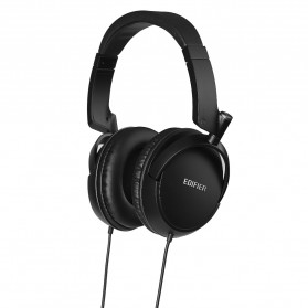 Edifier Powerful Headphones Noise Isolating HIFI with Mic - H841P - Black - 2