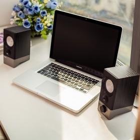 Edifier Multimedia Speaker Stereo 2.0 4W USB Sound Card - R19U - Black - 2