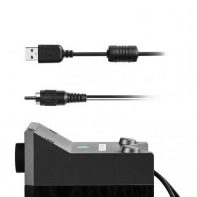 Edifier Multimedia Speaker Stereo 2.0 4W USB Sound Card - R19U - Black - 4