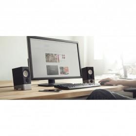 Edifier Multimedia Speaker Stereo 2.0 4W USB Sound Card - R19U - Black - 7